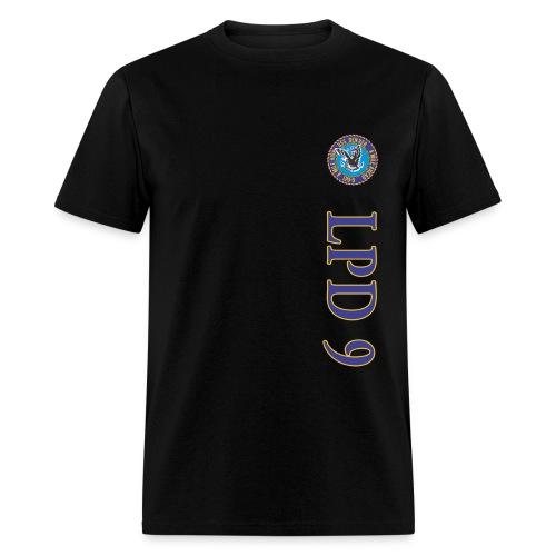 USS DENVER LPD-9 VERTICAL STRIPE TEE - Men's T-Shirt