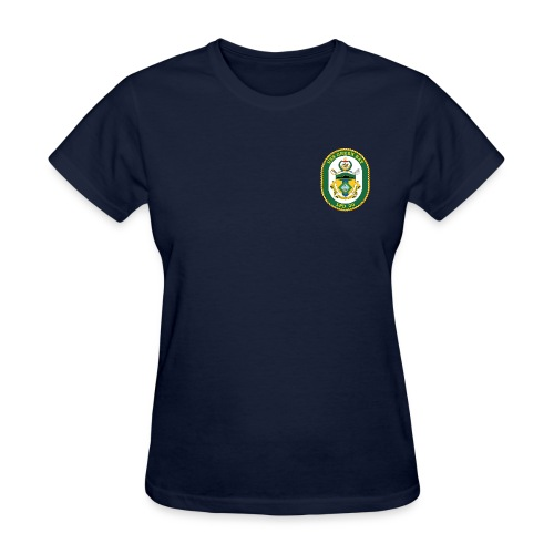 USS GREEN BAY LPD-20 TEE - WOMENS - Women's T-Shirt