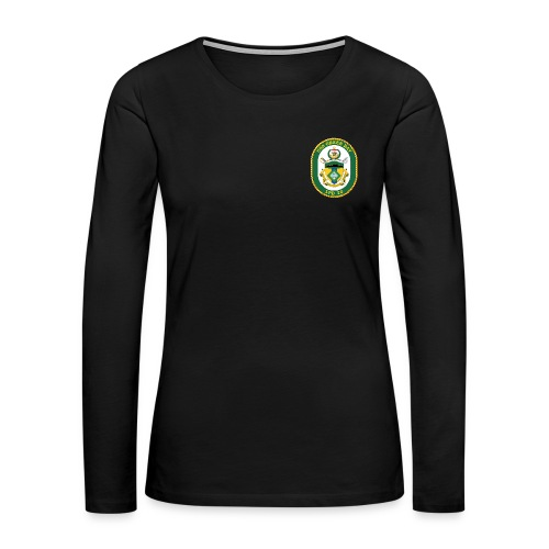 USS GREEN BAY LPD-20 LONG SLEEVE - WOMENS - Women's Premium Long Sleeve T-Shirt