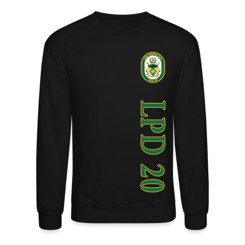 USS GREEN BAY LPD-20 SWEATSHIRT - Crewneck Sweatshirt