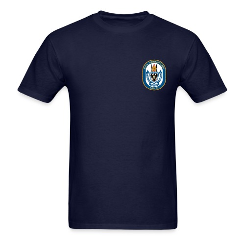 USS GERMANTOWN LSD-42 TEE - Men's T-Shirt