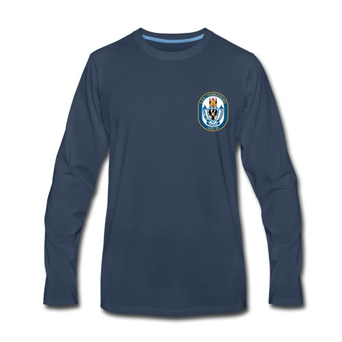 USS GERMANTOWN LSD-42 LONG SLEEVE - Men's Premium Long Sleeve T-Shirt