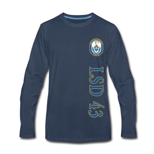 USS FORT MCHENRY LSD-43 LONG SLEEVE - Men's Premium Long Sleeve T-Shirt