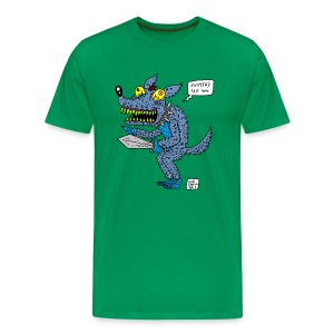 monster dog - Men's Premium T-Shirt