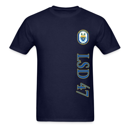 USS RUSHMORE LSD-47 TEE  - Men's T-Shirt