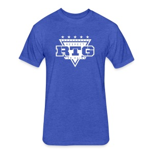 RTG Logo Tee - Fitted Cotton/Poly T-Shirt by Next Level