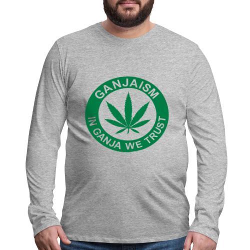 Ganjaism Classic - Men's Premium Long Sleeve T-Shirt