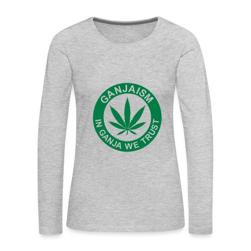 Ganjaism Classic - Women's Premium Long Sleeve T-Shirt