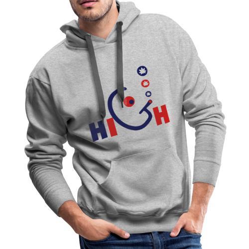 High - Men's Premium Hoodie