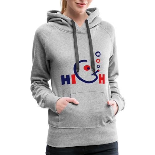 High - Women's Premium Hoodie