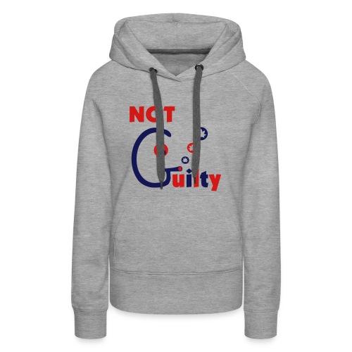 Not Guilty - Women's Premium Hoodie