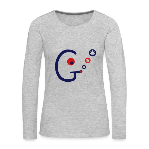 Ganjahead - Women's Premium Long Sleeve T-Shirt