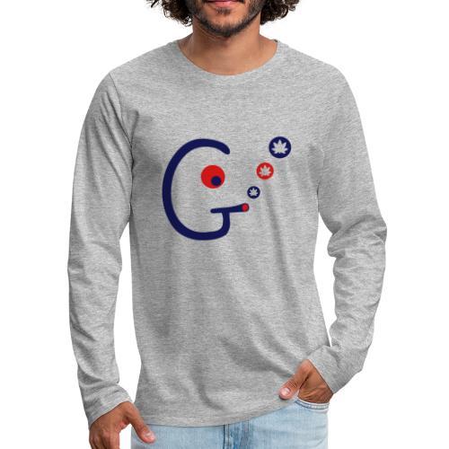 Ganjahead - Men's Premium Long Sleeve T-Shirt