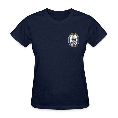 USS HARPERS FERRY LSD-49 TEE - WOMENS - Women's T-Shirt
