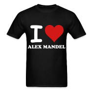 T-Shirts ~ Men's T-Shirt ~ I Love Alex Mandel - Gildan