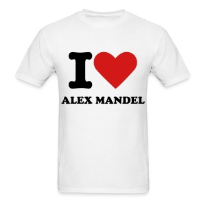 I Love Alex Mandel - Gildan - Men's T-Shirt