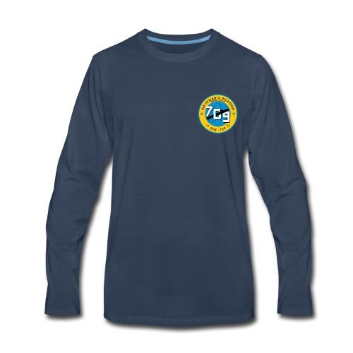 USS HYMAN G RICKOVER SSN-709  - Men's Premium Long Sleeve T-Shirt