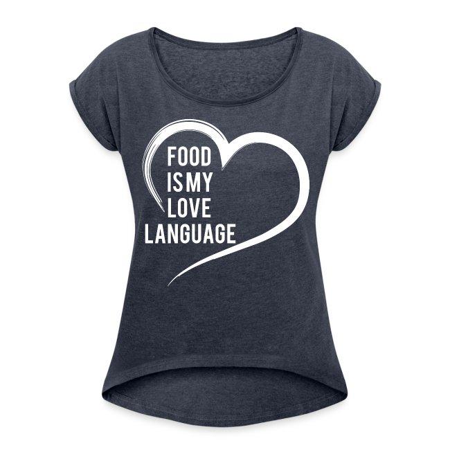 Food Is My Love Language Women's Boxy Shirt
