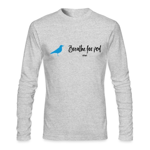 Breathe Bird Men's Long Sleeve - Men's Long Sleeve T-Shirt by Next Level