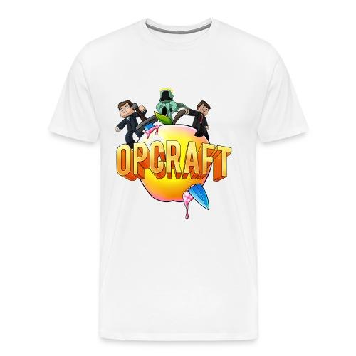 OPCraft Apple Logo Tee - Men's Premium T-Shirt