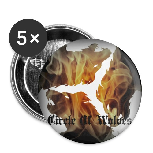 Circle of Wolves 1 - Small Buttons