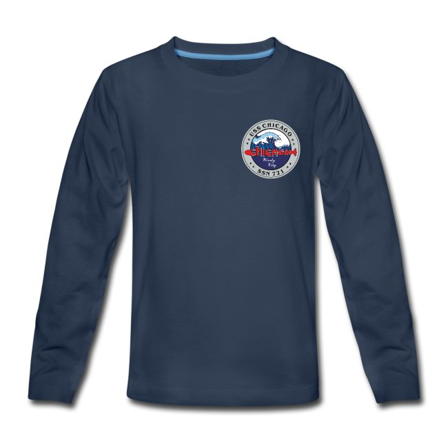 USS CHICAGO SSN-721 LONG SLEEVE