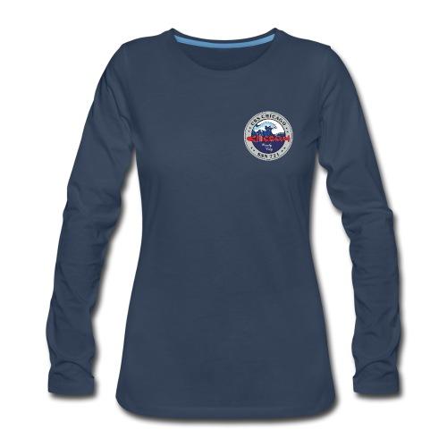 USS CHICAGO SSN-721 LONG SLEEVE - WOMENS - Women's Premium Long Sleeve T-Shirt