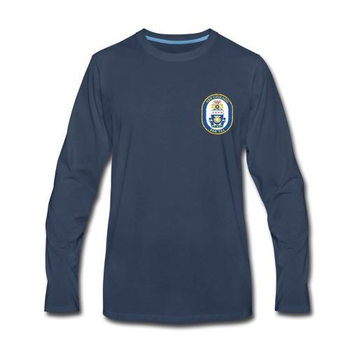 USS CHICAGO SSN-721 LONG SLEEVE - Men's Premium Long Sleeve T-Shirt