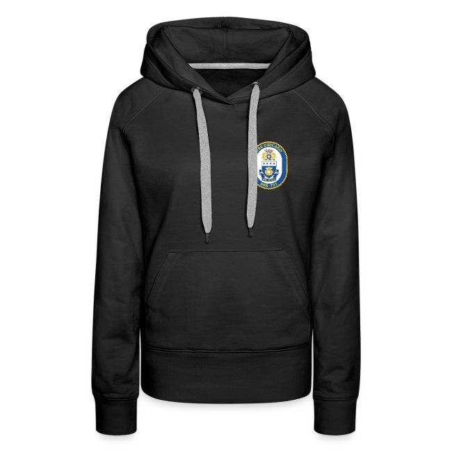USS CHICAGO SSN-721 HOODIE - WOMENS