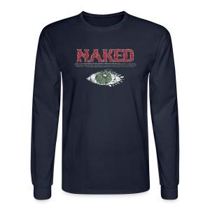 Naked i - Men's Long Sleeve T-Shirt