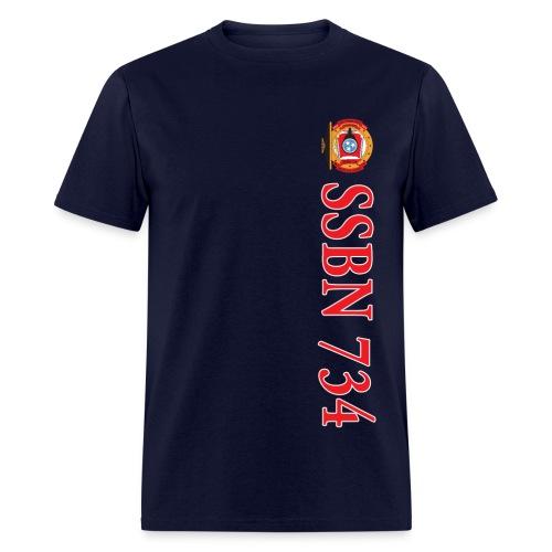 USS TENNESSEE SSBN-734 TEE - Men's T-Shirt