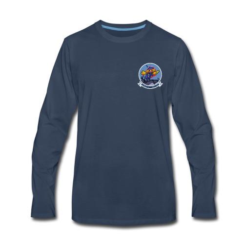 USS HORNET CVS-12 LONG SLEEVE - Men's Premium Long Sleeve T-Shirt