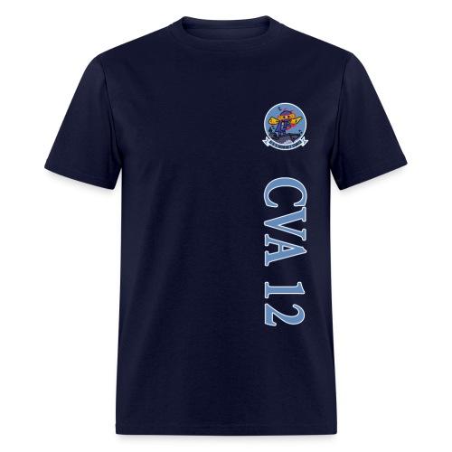 USS HORNET CVA-12 VERTICAL STRIPE TEE - Men's T-Shirt