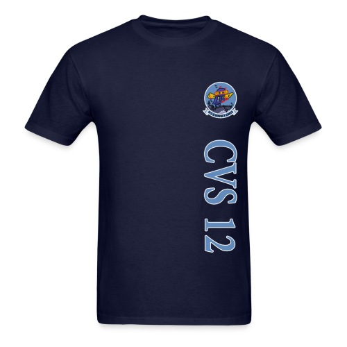 USS HORNET CVS-12 VERTICAL STRIPE TEE - Men's T-Shirt