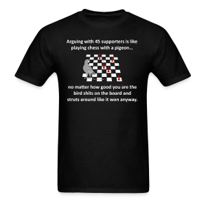 ARGUING WITH TRUMP SUPPORTERS - Men's T-Shirt