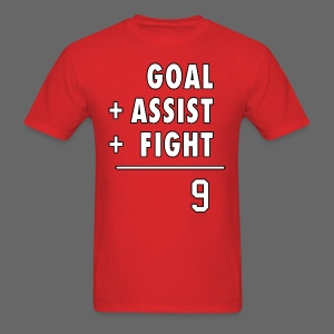 Hat Trick Math - Men's T-Shirt