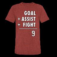 T-Shirts ~ Unisex Tri-Blend T-Shirt ~ Hat Trick Math