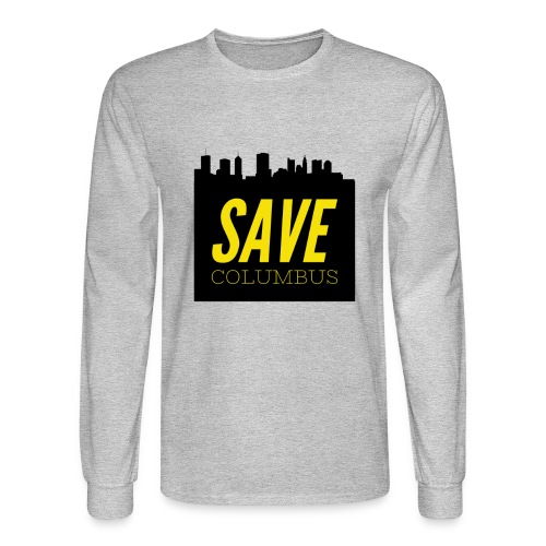 Save Columbus - Men's Long Sleeve T-Shirt