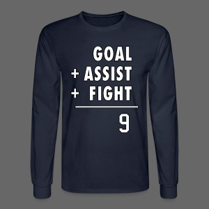 Hat Trick Math - Men's Long Sleeve T-Shirt