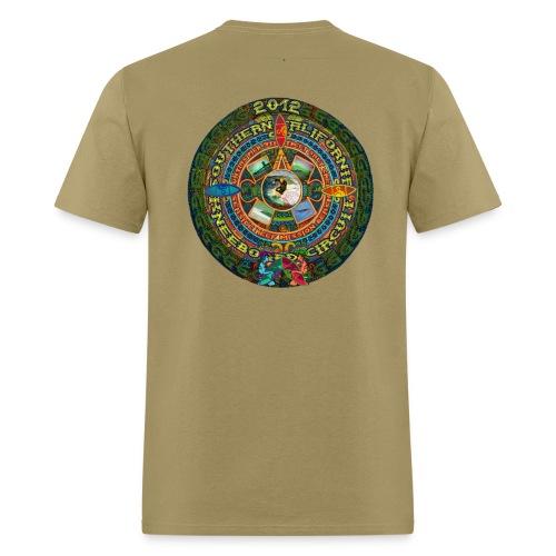 SoCal Kneeboard Circuit - Natural - Men's T-Shirt