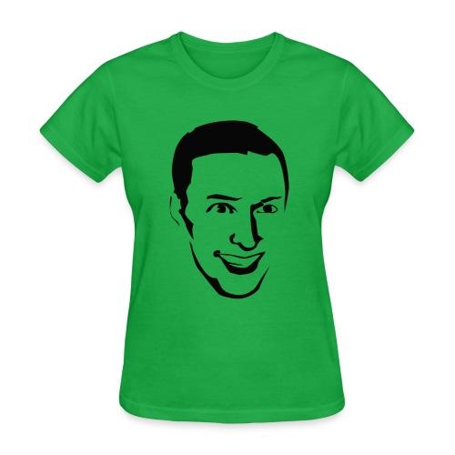 Andrew Face Shirt, Women - Women's T-Shirt