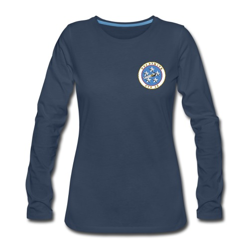 USS NIMITZ CVN-68 LONG SLEEVE - WOMENS - Women's Premium Long Sleeve T-Shirt