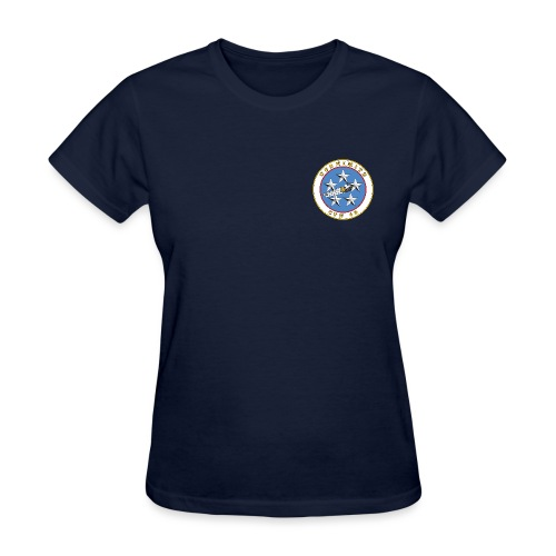 USS NIMITZ CVN-68 TEE - WOMENS - Women's T-Shirt