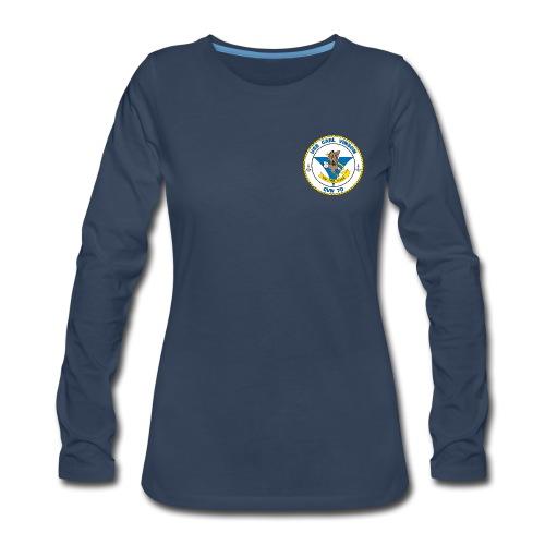 USS CARL VINSON CVN-70 LONG SLEEVE - WOMENS - Women's Premium Long Sleeve T-Shirt