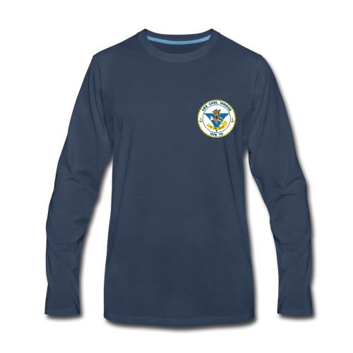 USS CARL VINSON CVN-70 LONG SLEEVE - Men's Premium Long Sleeve T-Shirt