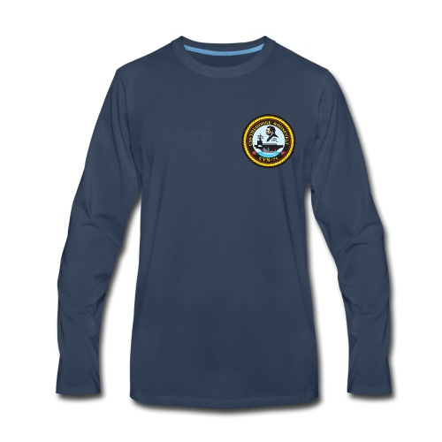 USS THEODORE ROOSEVELT CVN-71 LONG SLEEVE - Men's Premium Long Sleeve T-Shirt