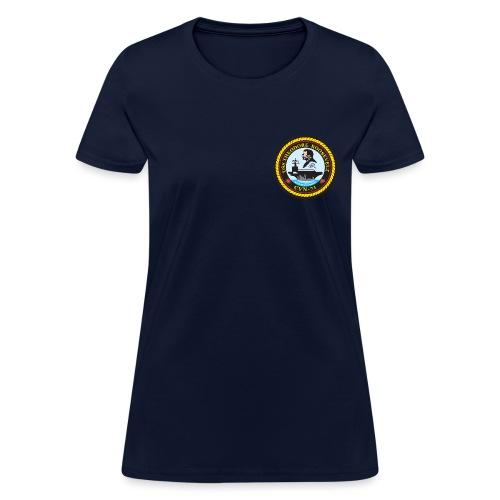 USS THEODORE ROOSEVELT CVN-71 TEE - WOMENS - Women's T-Shirt