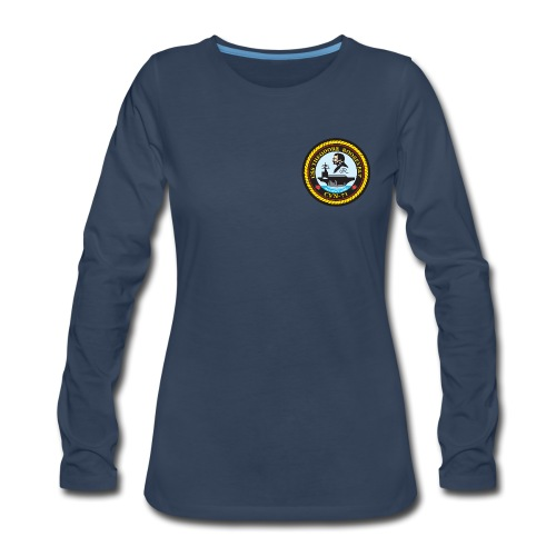 USS THEODORE ROOSEVELT CVN-71 LONG SLEEVE - WOMENS - Women's Premium Long Sleeve T-Shirt