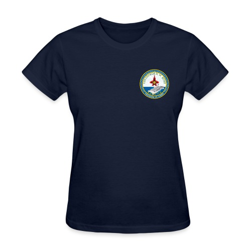 USS GEORGE HW BUSH CVN-77 TEE - WOMENS - Women's T-Shirt