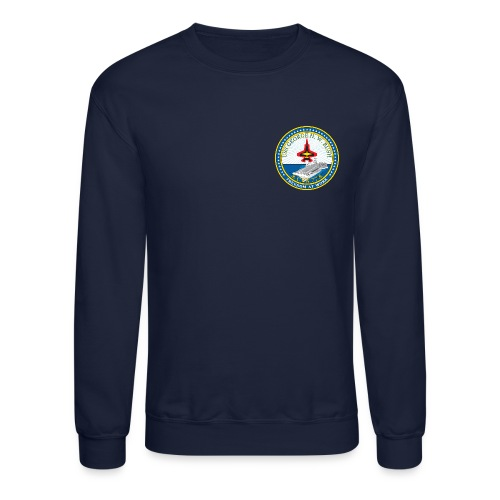 USS GEORGE HW BUSH CVN-77 SWEATSHIRT - Crewneck Sweatshirt